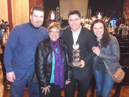 Felicitaciones al Socio Carmelo Milán